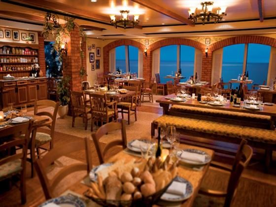 La Cucina Italian restaurant aboard the Norwegian Pearl