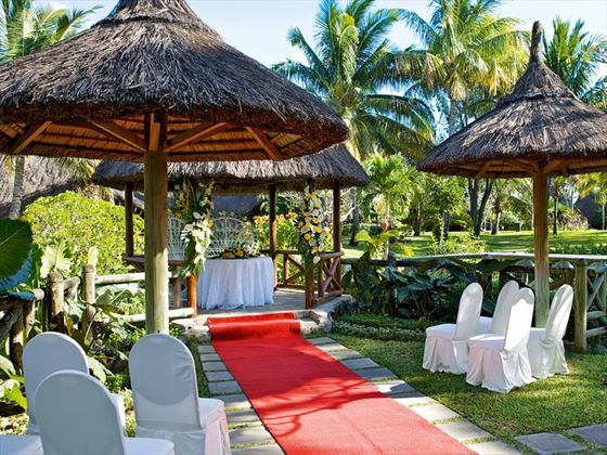La Pirogue wedding gazebo
