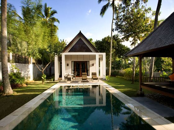 Lap pool at The Samaya Ubud