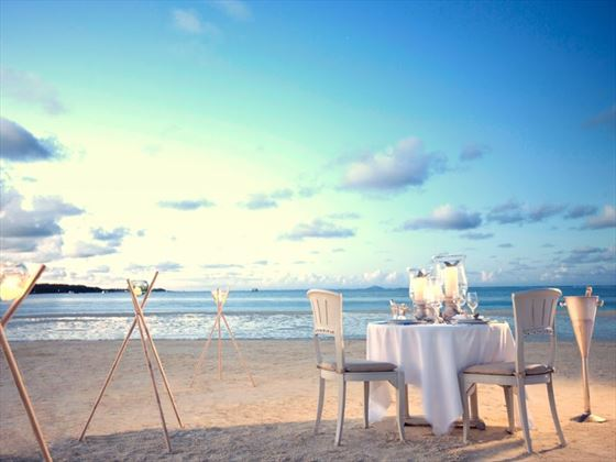 Romantic delights at LUX* Belle-Mare