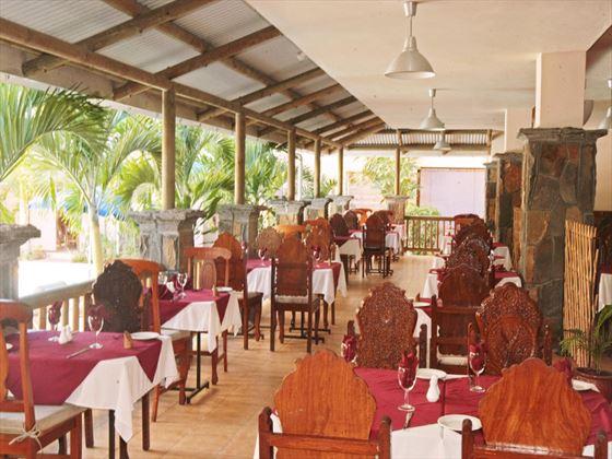 Le Cateau Vert restaurant at Le Palmiste
