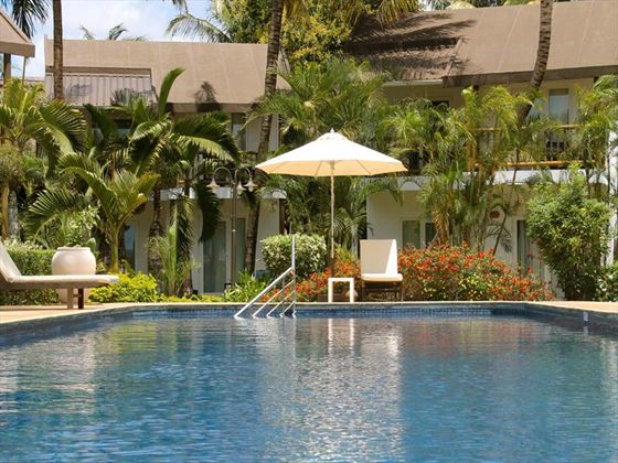 The pool at Les Cocotiers