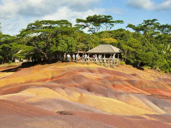 Les Terres des Sept Couleurs, Mauritius