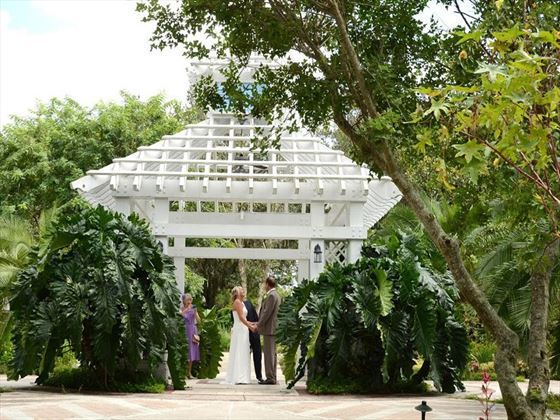 The beautiful gazebo at Leu Gardens