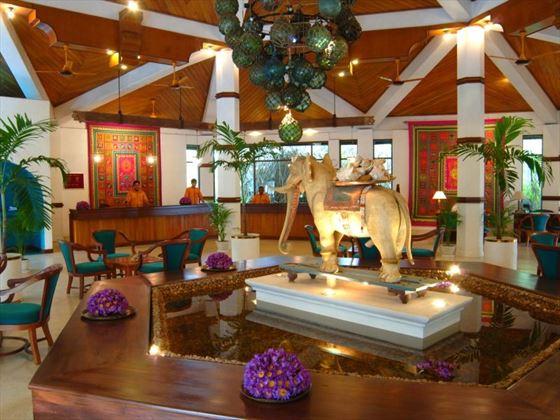Lobby at Tangerine Beach
