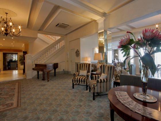 Lobby at The Beach Hotel