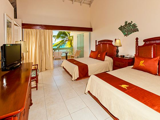 Long Baay Beach Resort and Villas Beachfront Deluxe Room