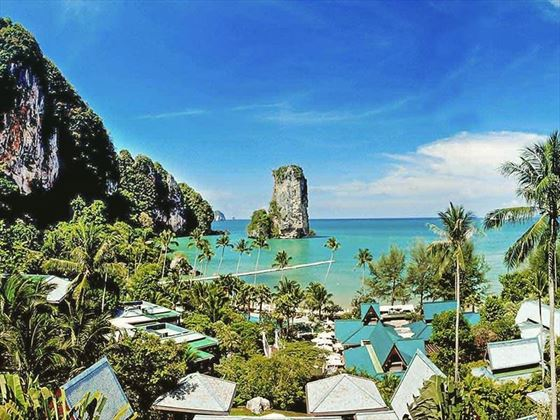 Looking out to sea at Centara Grand Beach Resort, Krabi