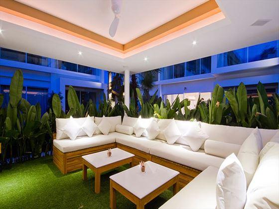 Lounge area at Lanna Samui