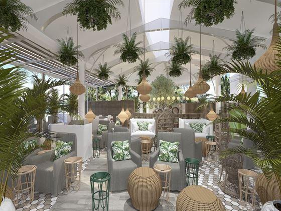 LUX* Grand Gaube - The Palm Court (artist impression)
