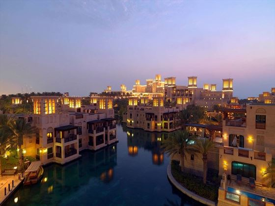 Jumeirah Dar Al Masyaf, Madinat Jumeirah at night time