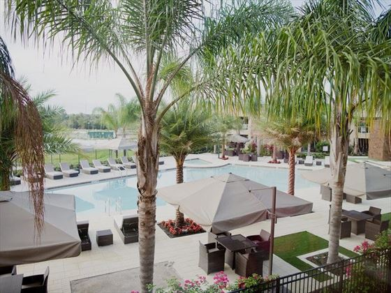 Magic Village Resort pool area