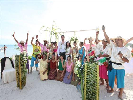 Mai Samui wedding party