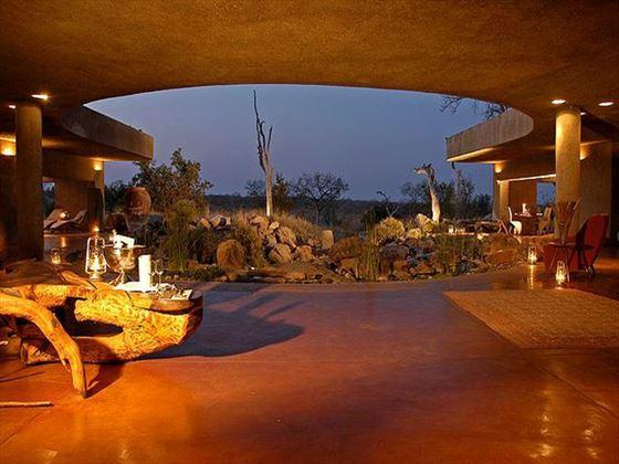Main entrance to Sabi Sabi Private Game Reserve