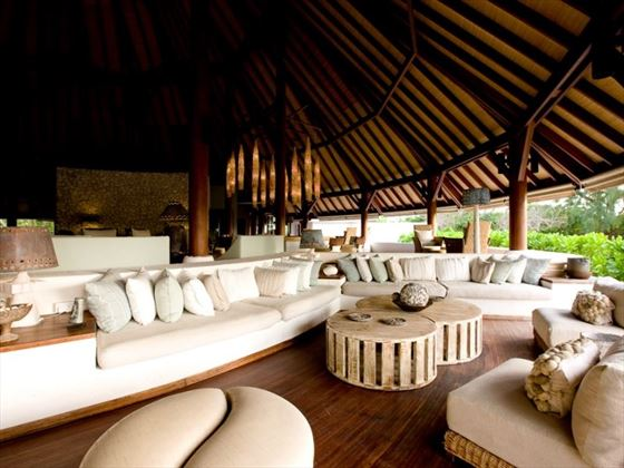 Denis Island main lounge