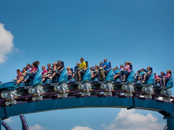 Mako - New ride at SeaWorld Orlando