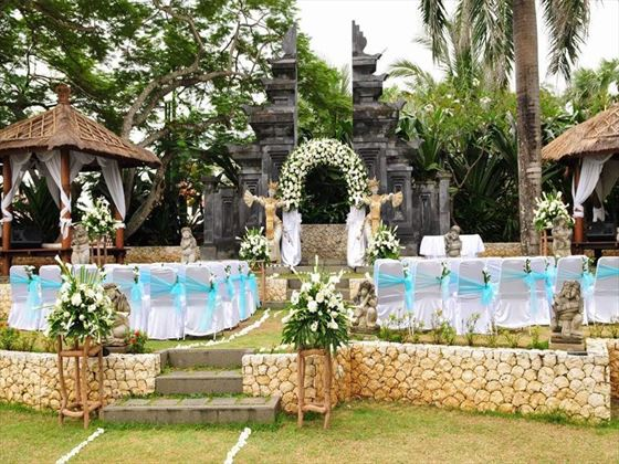 Bali Mandira Beach Resort & Spa weddings
