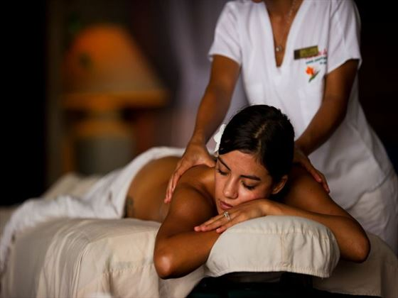 Relax with a soothing massage on your spa holiday