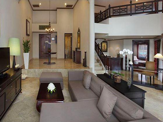 Melia Benoa Family Suite living room