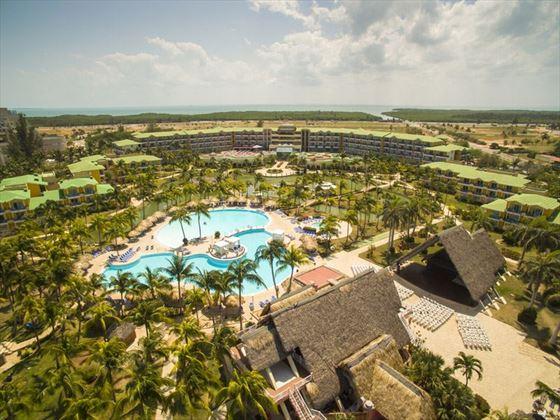 Melia Las Antillas aerial view