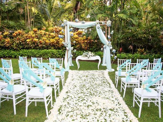 Garden wedding, melia Bali
