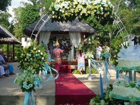 The Thai wedding ceremony