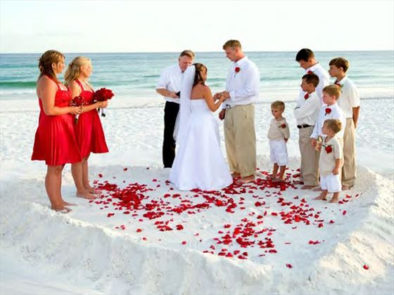 Miami wedding ceremony