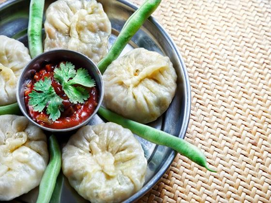 Traditional Nepalese momos