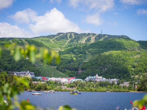 Mont Tremblant in the summer