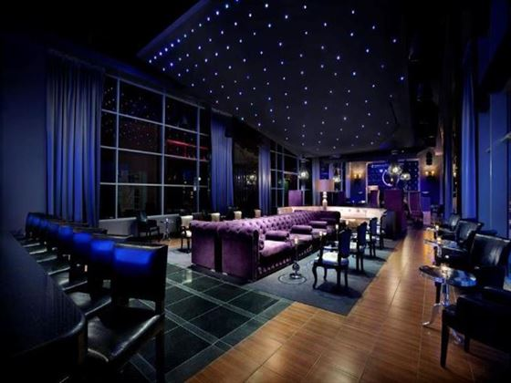 Moon lounge at Hard Rock Hotel and Casino