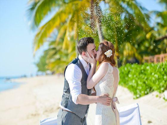 Mr & Mrs Lewis in Mauritius