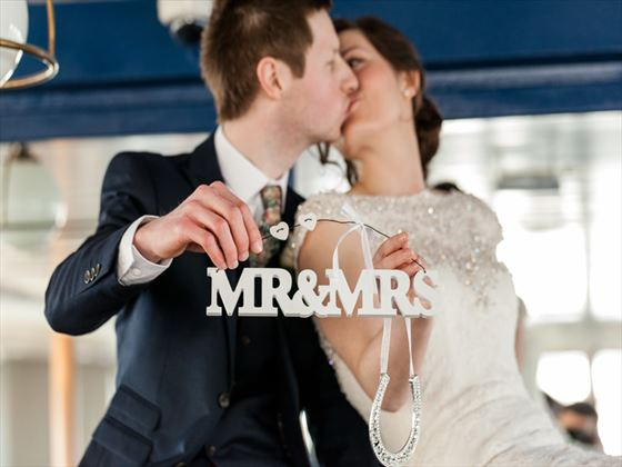 Newly married on board