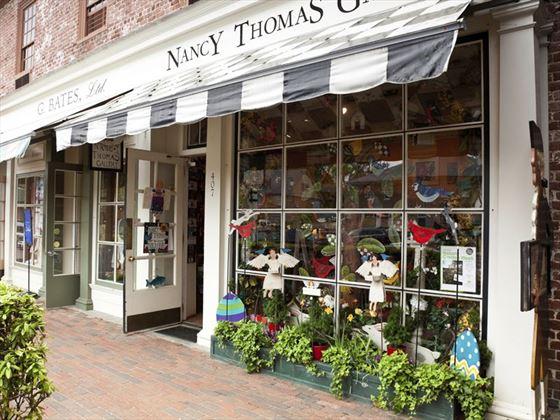 Nancy Thomas store in Williamsburg