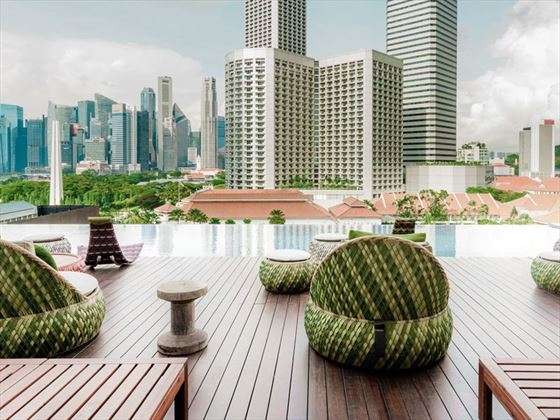 Cloud 9 Infinity Pool & Bar at Naumi Hotel, Singapore