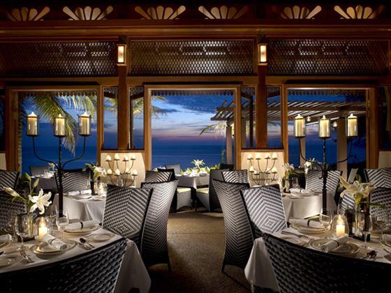 Nelayan restaurant at Tanjong Jara Resort