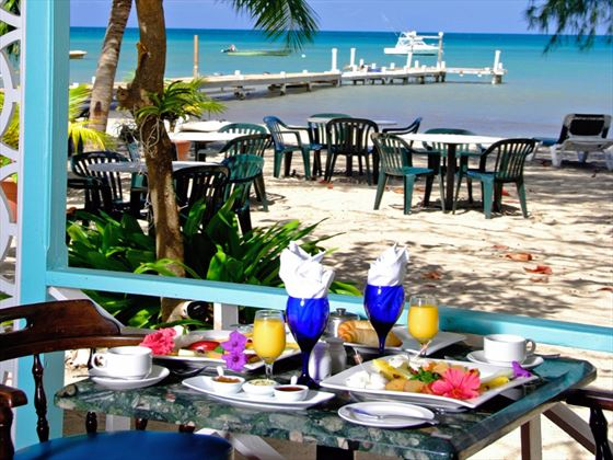 Nevis restaurant at Oualie Beach Resort