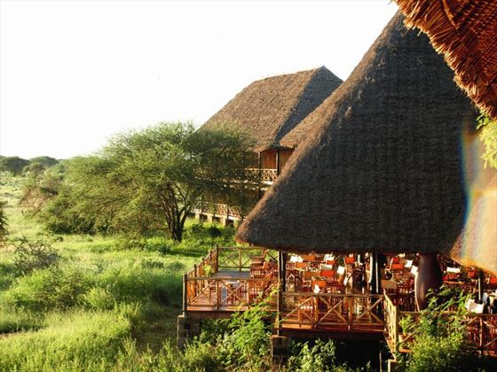 Ngutuni Safari Lodge lodges
