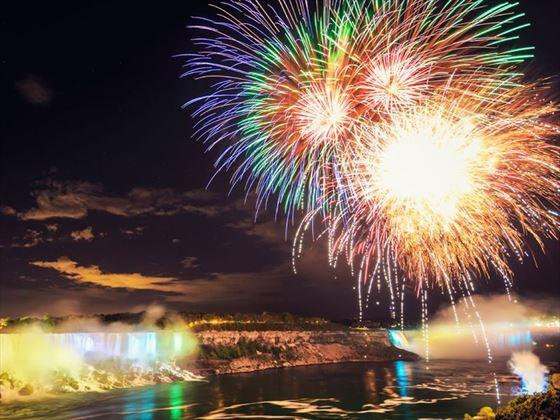Niagara Falls Firework Cruise