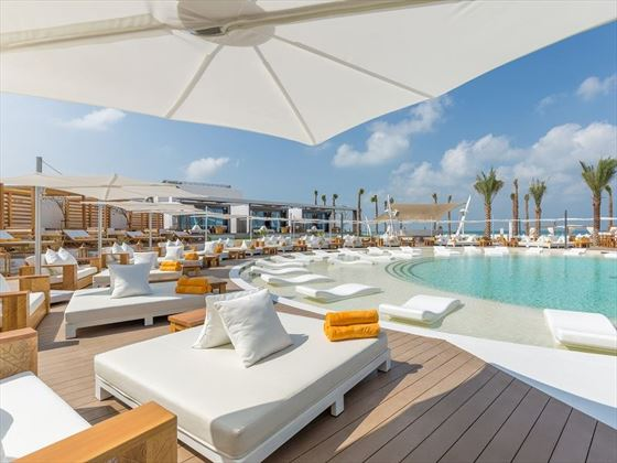 Nikki Beach Resort & Spa Beach Club Cabanas
