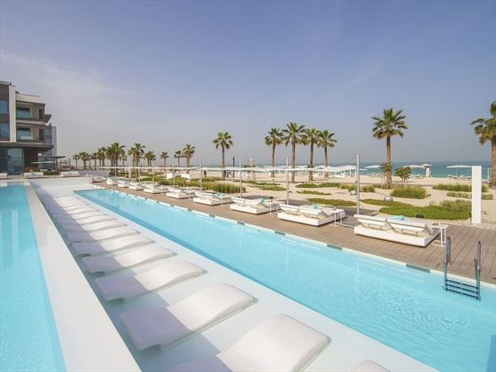 Nikki Beach Resort & Spa main pool and beach