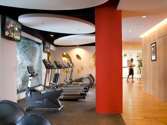 Fitness centre at Hilton Bali Resort