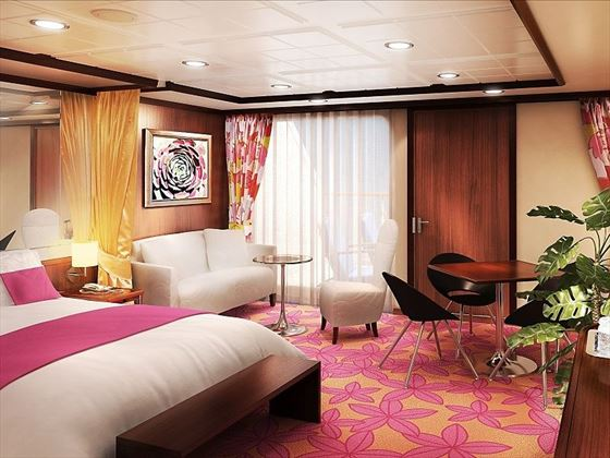 Norwegian Pearl Penthouse interior
