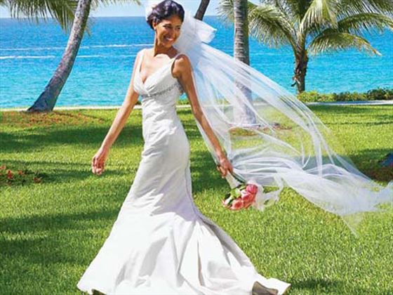 Bride at the Hideaway of Nungwi Resort