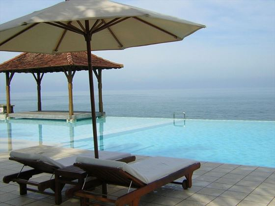 Ocean views from Saman Villas