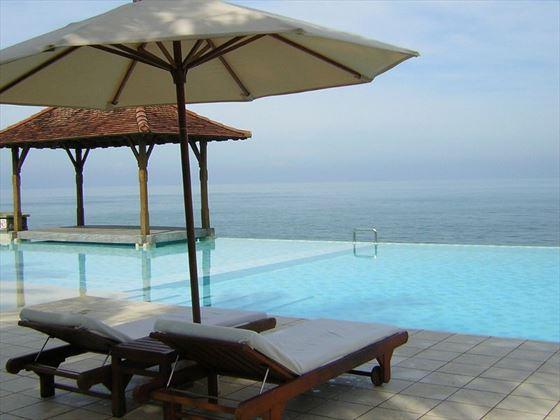 Ocean views from Saman Villas