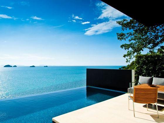 Oceanview Pool Villa plunge pool