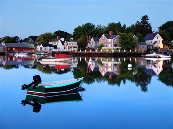 On the water at Portsmouth, New Hampshire