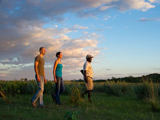 Ongava Tented Camp walking safari