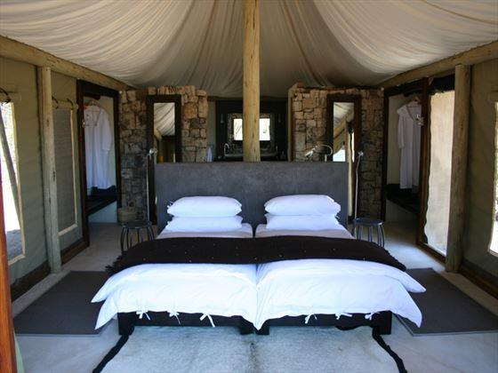 Onguma Tented Camp bedroom