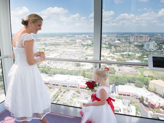 Fab views of Orlando from the Eye